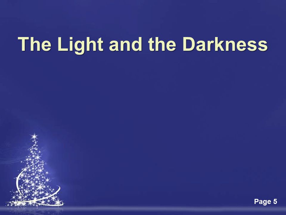Click Here To Download This Powerpoint Template Light Christmas