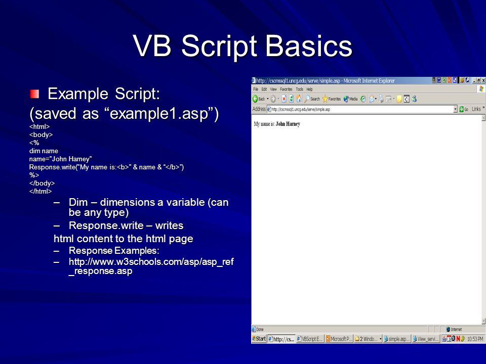 MSSQL & ASP  Client-Server Relationship Client-Server