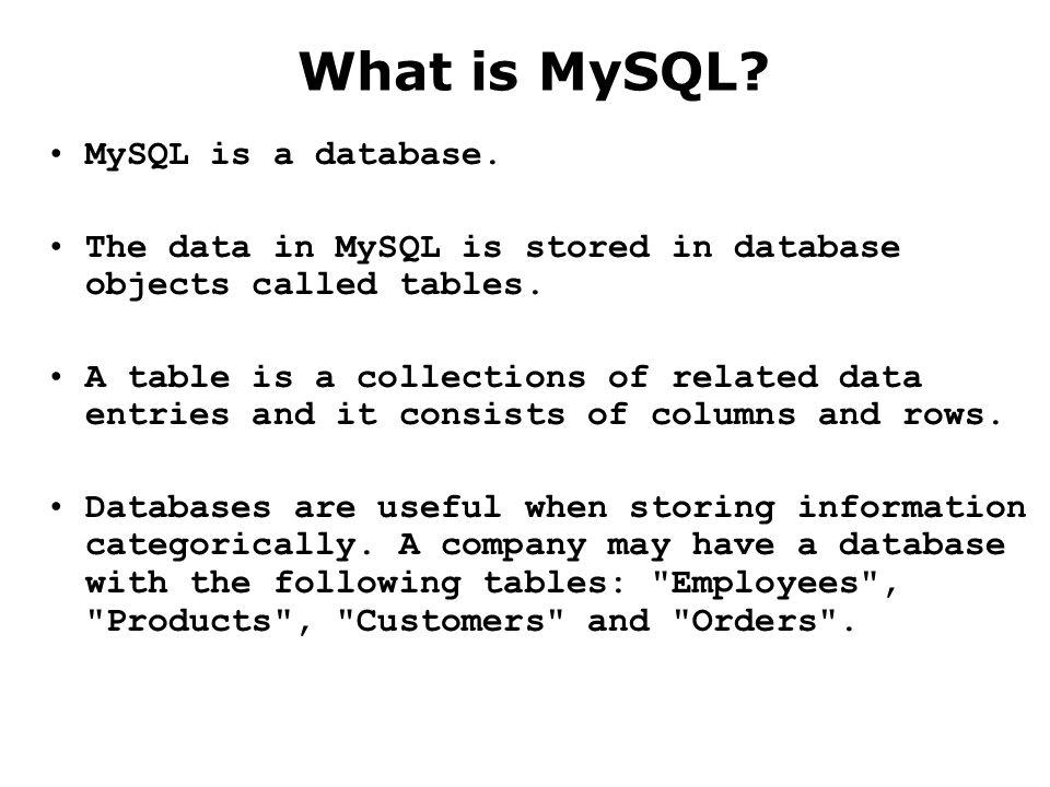 mysql performance management