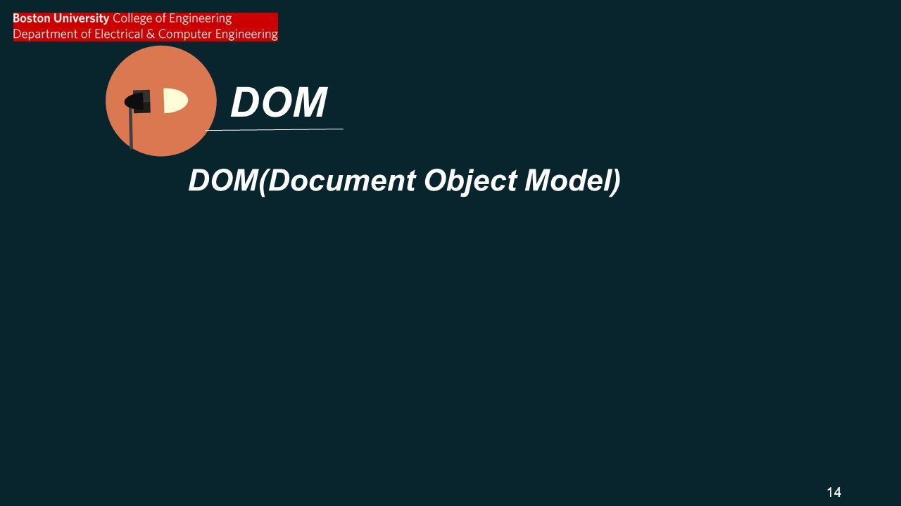 DOM DOM(Document Object Model) 14