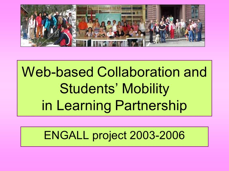 Web-based Collaboration and Students' Mobility in Learning