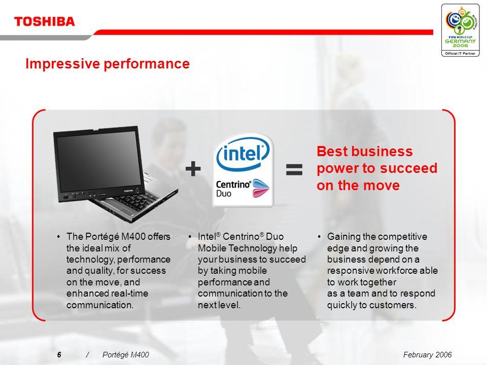 Toshiba Portege M400 Intel Calistoga Display Windows Vista 64-BIT
