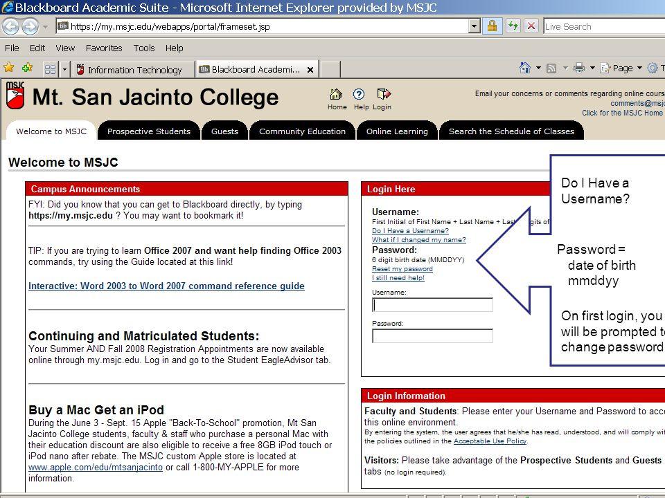 san jac college blackboard