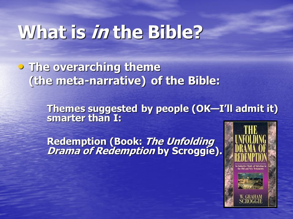 Introduction to the Bible II  Review What do you remember