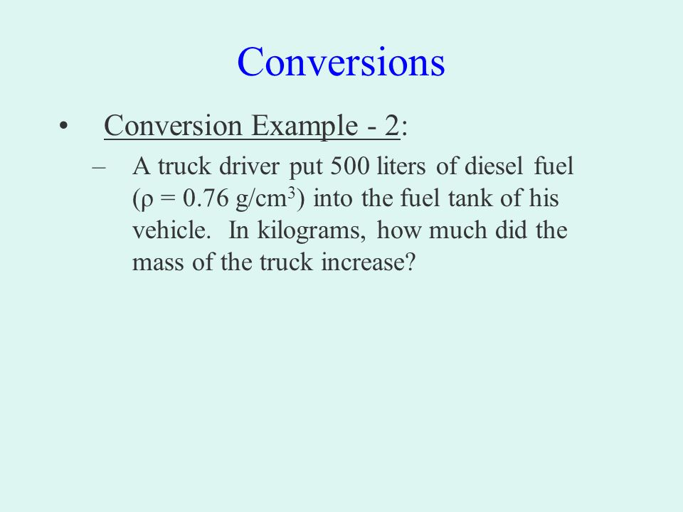 Big Hint Start A Reference Sheet For Conversion Factors Length 12