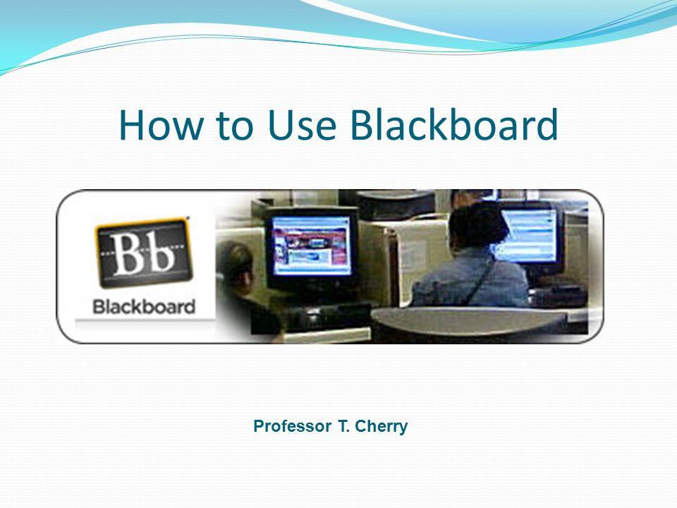 How to Use Blackboard Professor T  Cherry  Creating a CUNY Portal ID