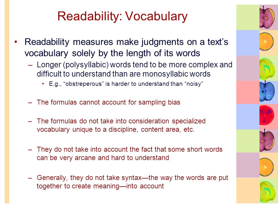 Readability, Strategy Instruction, and the B-D-A Framework  - ppt