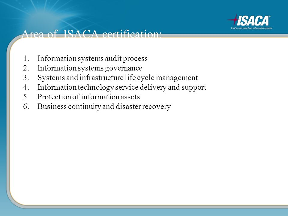 Isaca For Student Agenda Move Yourself Forward About Isaca