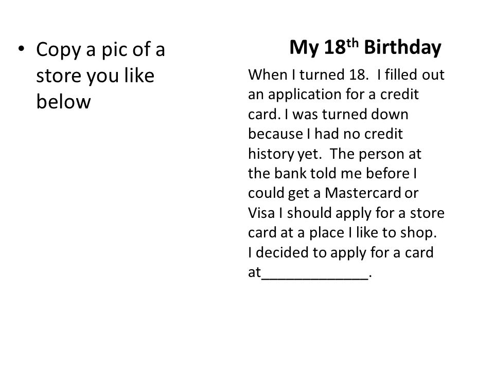 once upon a credit card by you write your name here ppt download