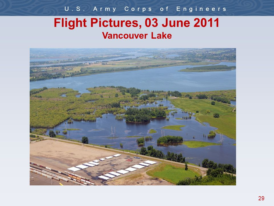 29 U.S. Army Corps of Engineers Flight Pictures, 03 June 2011 Vancouver Lake