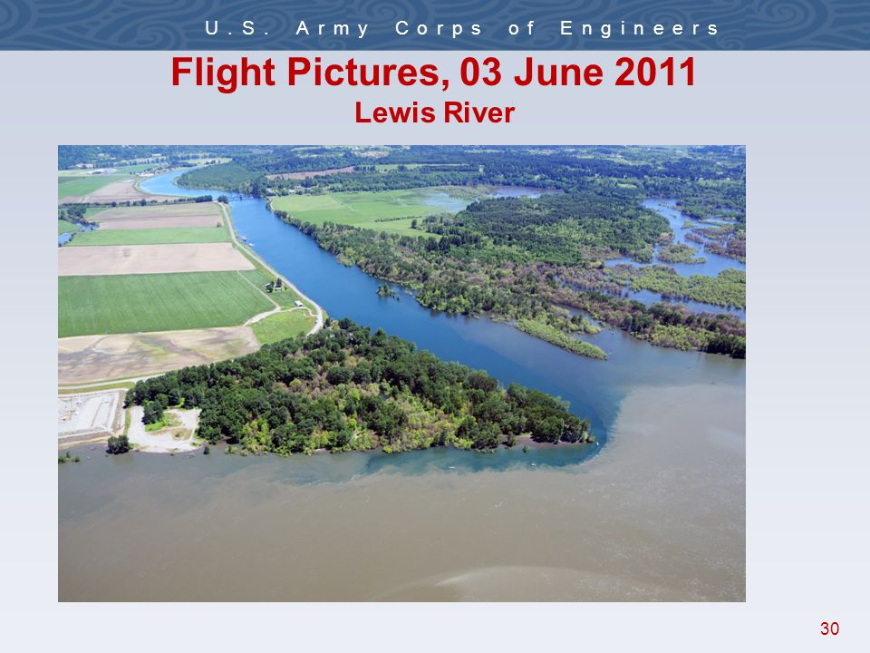 30 U.S. Army Corps of Engineers Flight Pictures, 03 June 2011 Lewis River