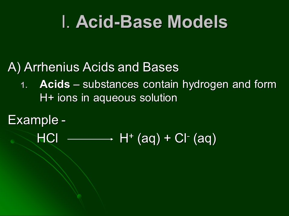 examples of acids and bases on the ph scale