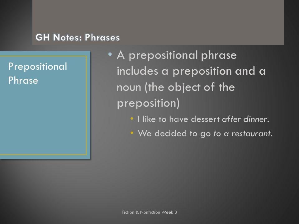 Week  Silent Spring  Essay Objectiveassignmentshw Monw Write A   A Prepositional