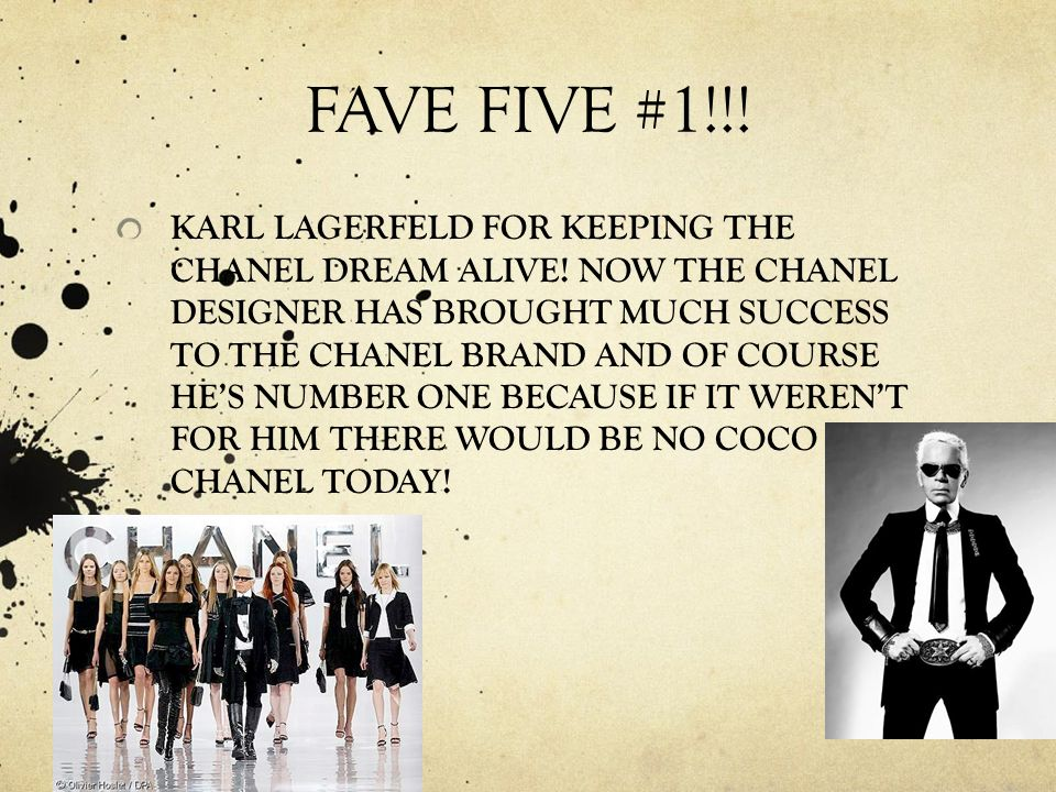 63231176404 COCO CHANEL S FAVE FIVE! WORLD HISTORY HONORS PERIOD 8 JACQUELINE ...
