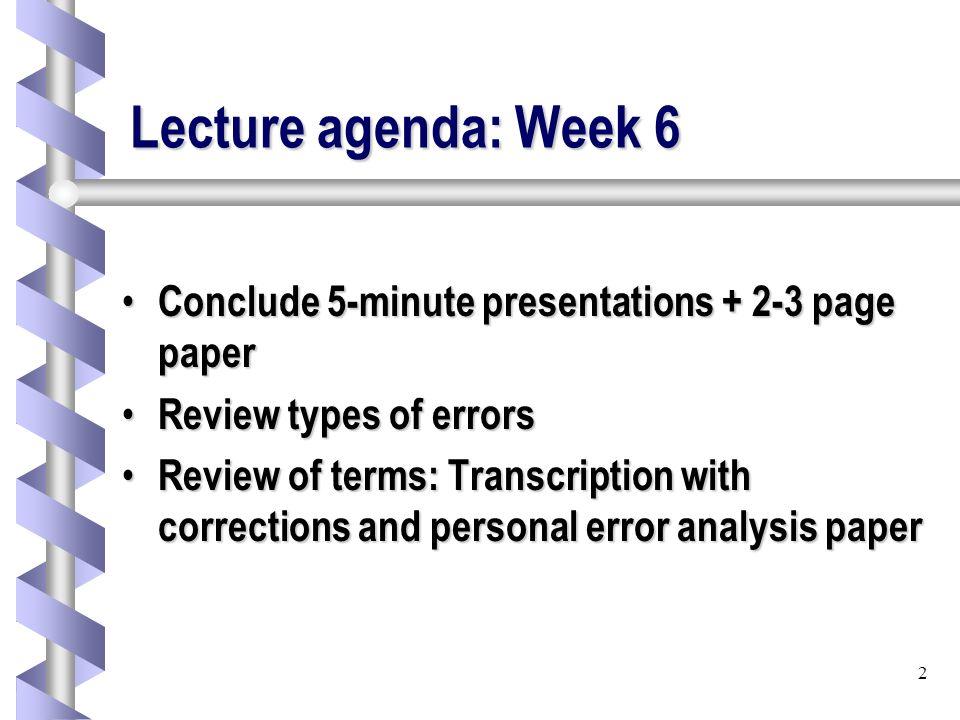 1 Trin 3102 Consecutive Interpreting Week 6 Week 6 222 Ppt Download