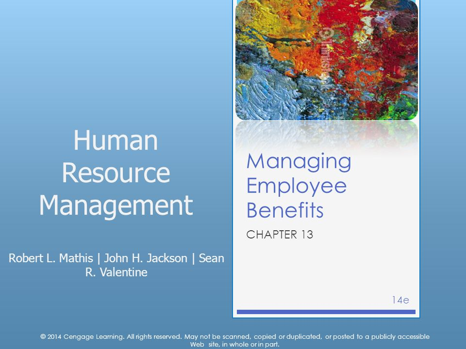 Human Resource Management Robert L. Mathis | John H.