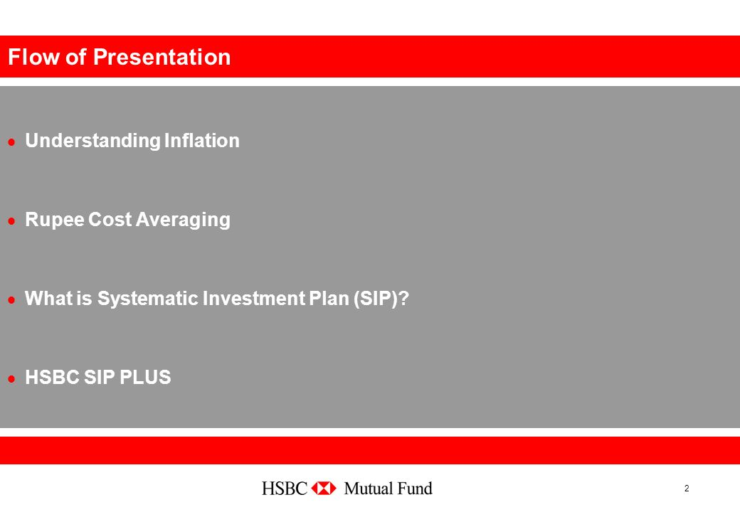 HSBC SIP Plus HSBC Mutual Fund A little every month can help fulfil