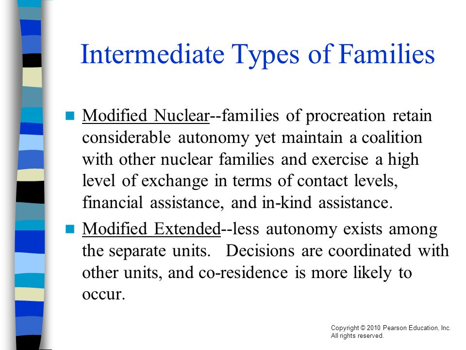 modified extended family definition