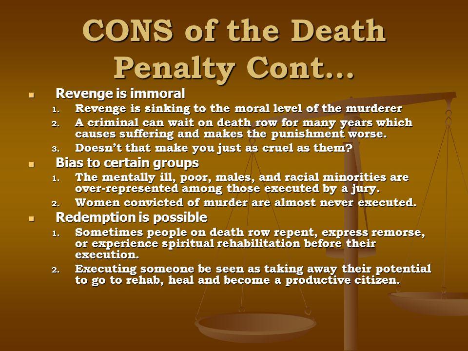 capital punishment immoral