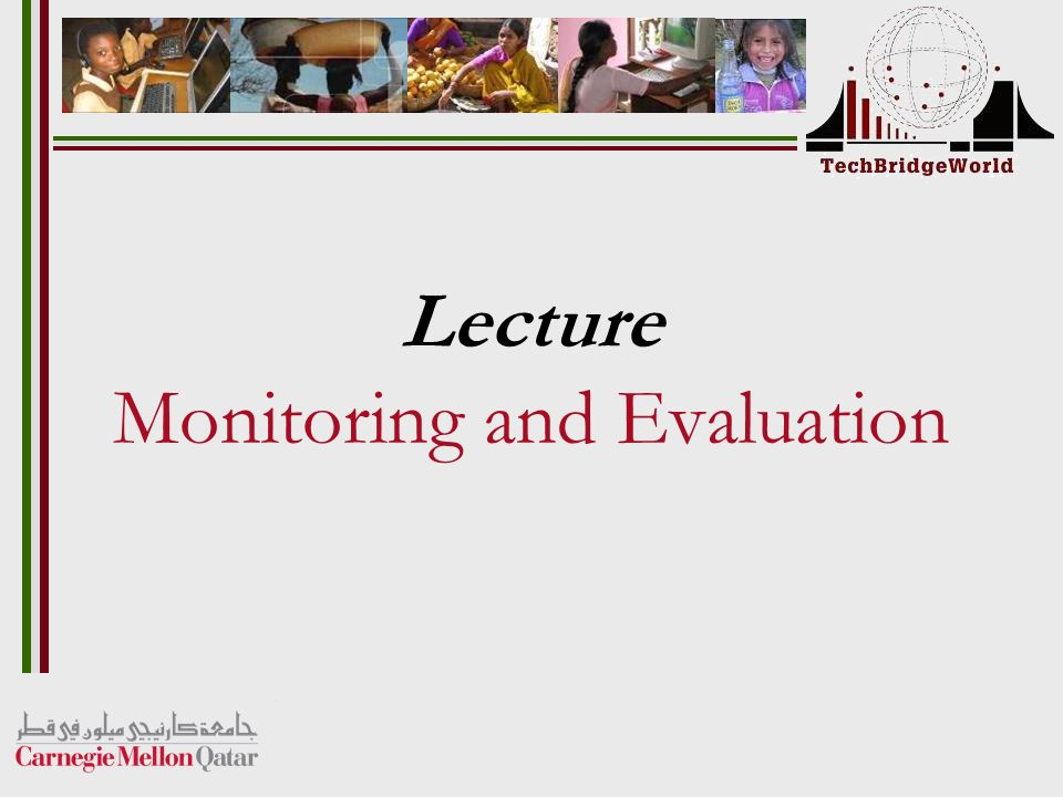Lecture Monitoring and Evaluation