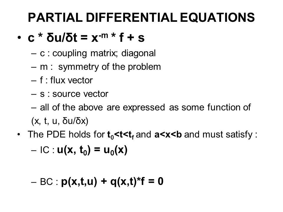 DIFFERENTIAL EQUATIONS, INTEGRATION, POLYNOMIALS, RANDOM NUMBERS