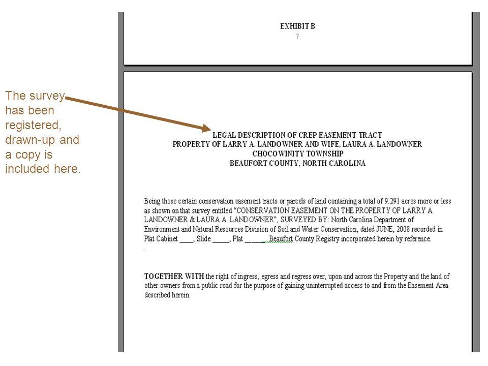 Anatomy of a CREP Easement … Jonathan Lanier, CREP Attorney