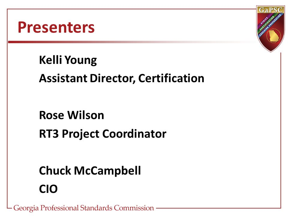 Certification And Technology Update Gaspa December 2 Ppt Download