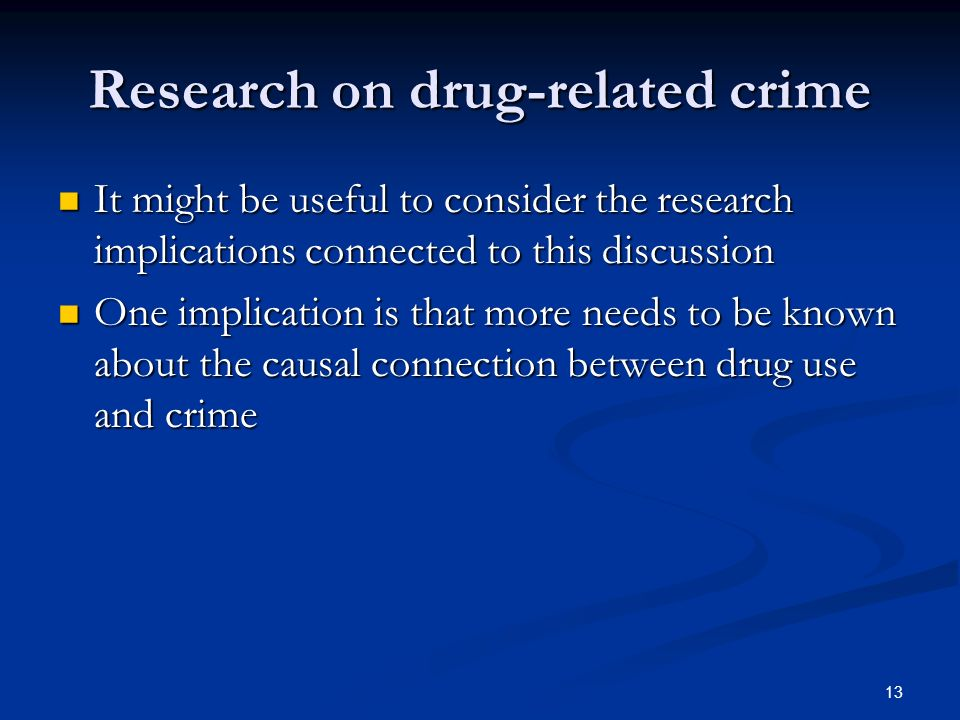 relationship between drugs and crime essay