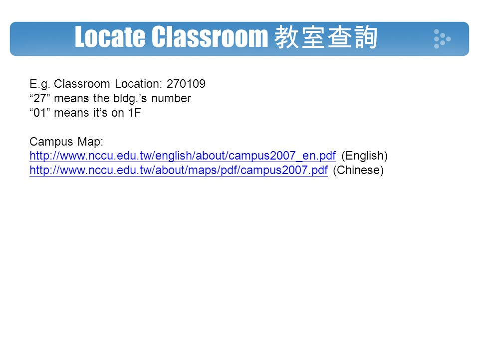 Log in the System 登入系統Choose English version Course Selection ...