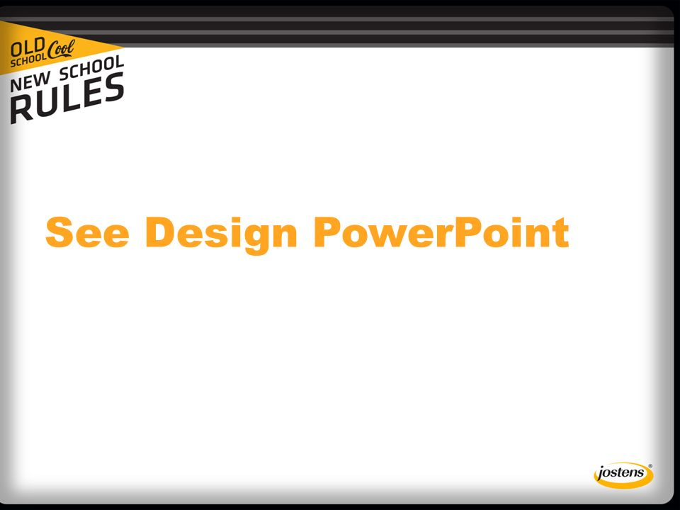See Design PowerPoint