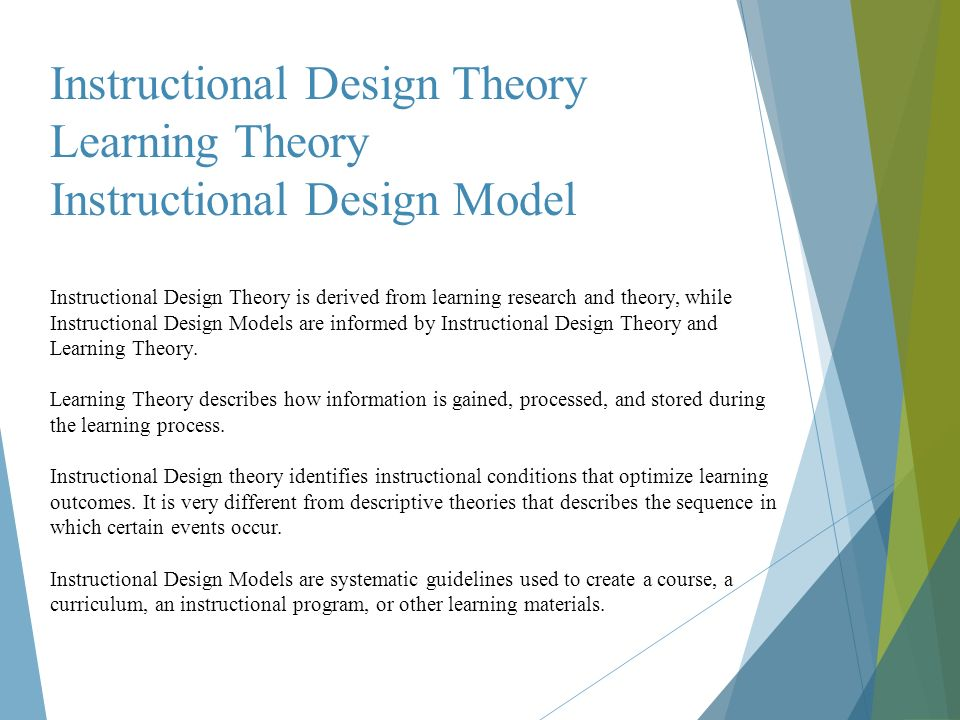 Instructional Design Eyad Hakami Instructional Design Instructional Design Is A Systematic Process By Which Educational Materials Are Created Developed Ppt Download
