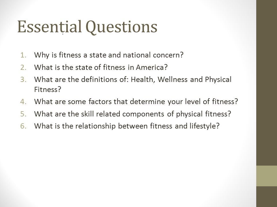 Personal Fitness Chapter 1 Why Personal Fitness?  - ppt download