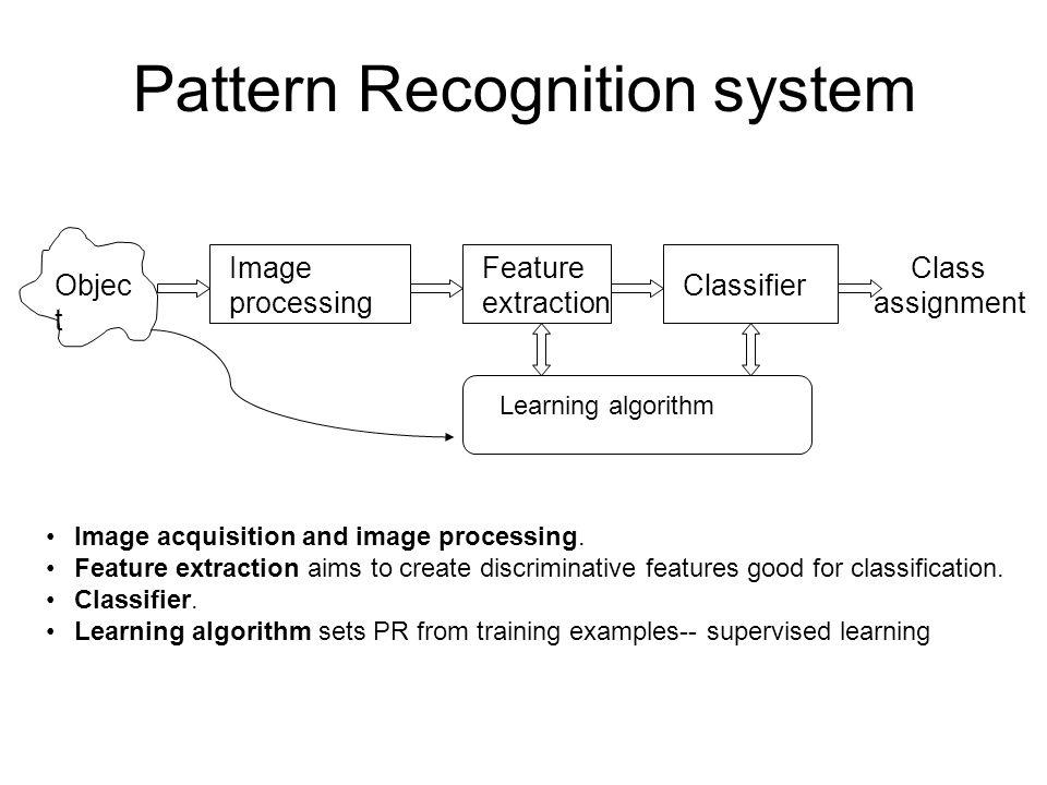 嵌入式視覺 Pattern Recognition for Embedded Vision Template matching