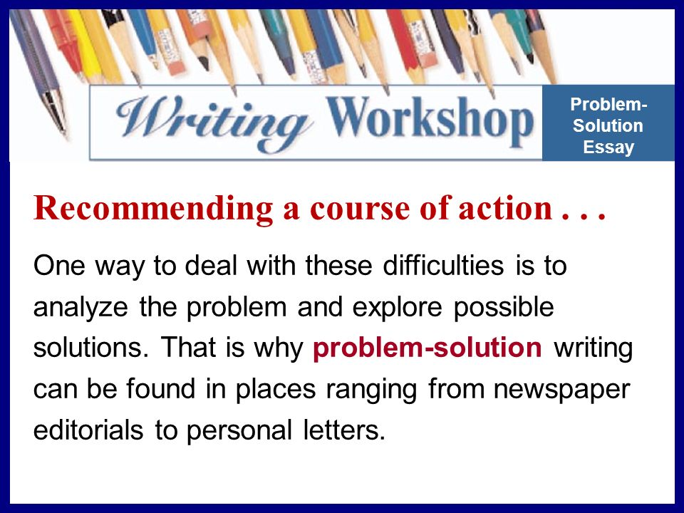 Recommending a course of action...
