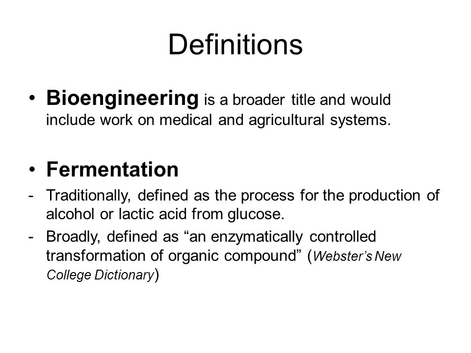 Definitions Bioengineering is a broader title and would include work on medical and agricultural systems.