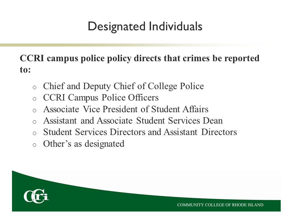 Jeanne Clery Campus Security Policy Crime Statistics Disclosure