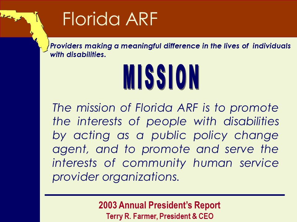 disabled adults organizations for Florida young