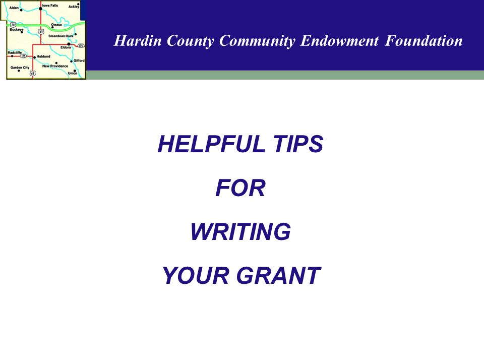 Hardin County Community Endowment Foundation Welcome to the