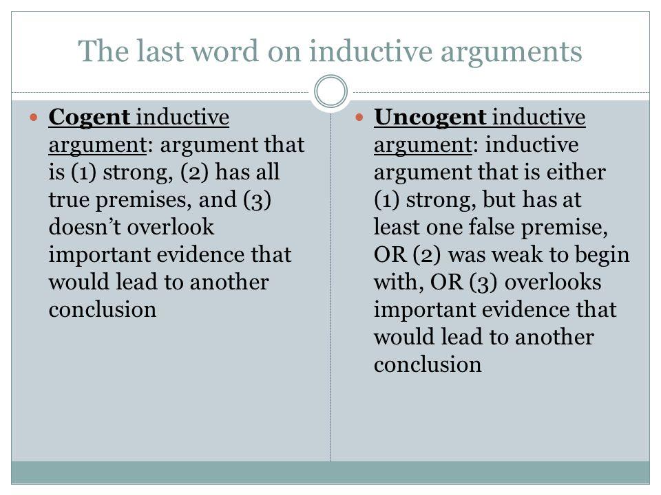 uncogent argument example