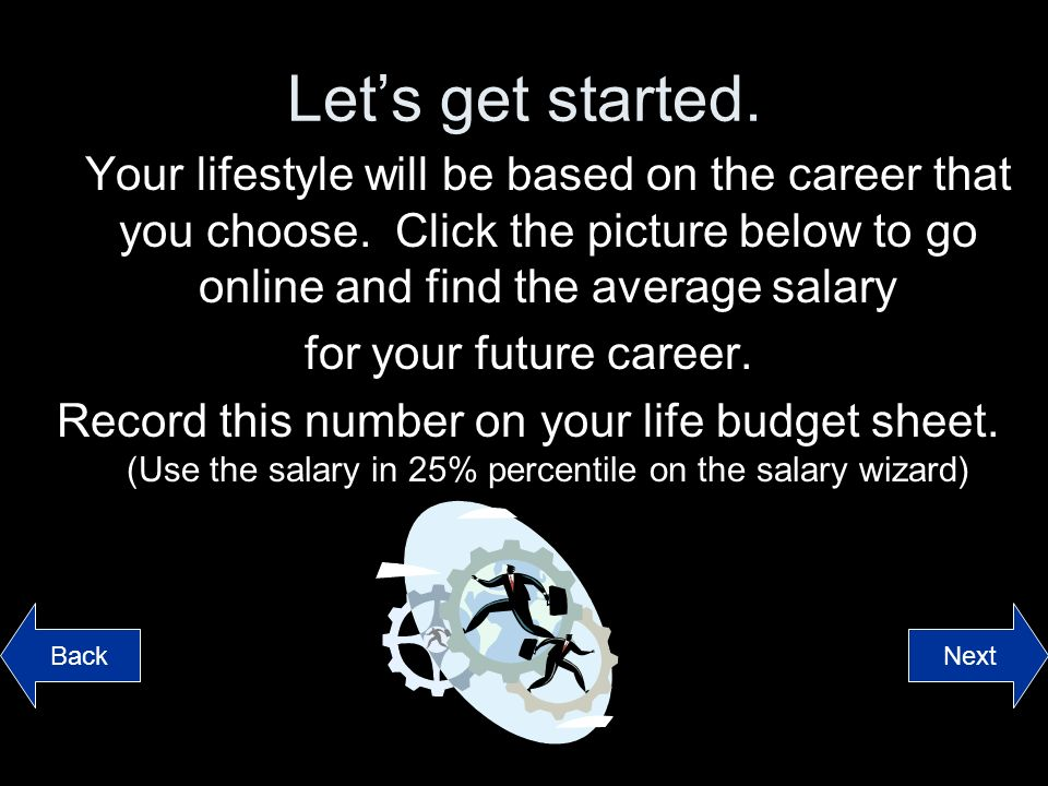The Game Of Life Click To Start Directions Read Each Section And