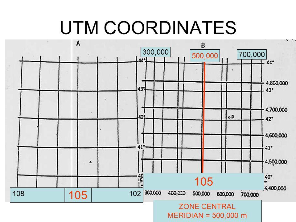 Utm Coordinates Map INTRODUCTION TO UTM COORDINATES AND MAP DATUMS.   ppt download Utm Coordinates Map
