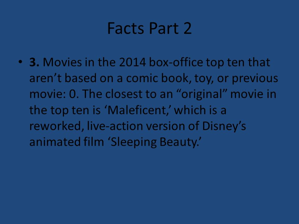 Top 11 Movies of 2014 By Layton S  Facts part 1 1  Only one