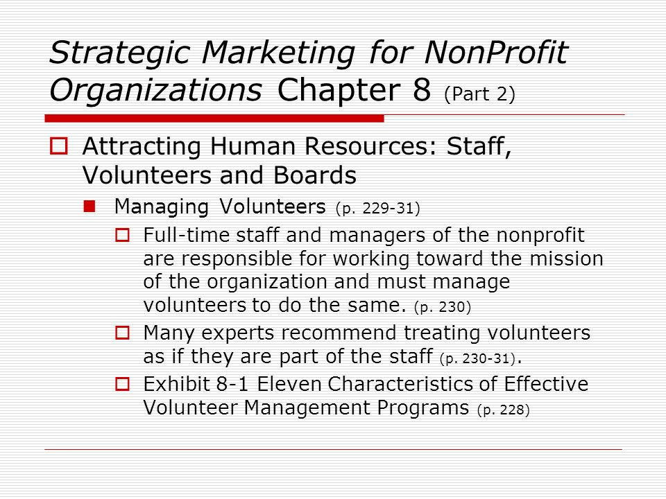 PADM 7040 Nonprofit Management Week 8 Topic Overview Jerry
