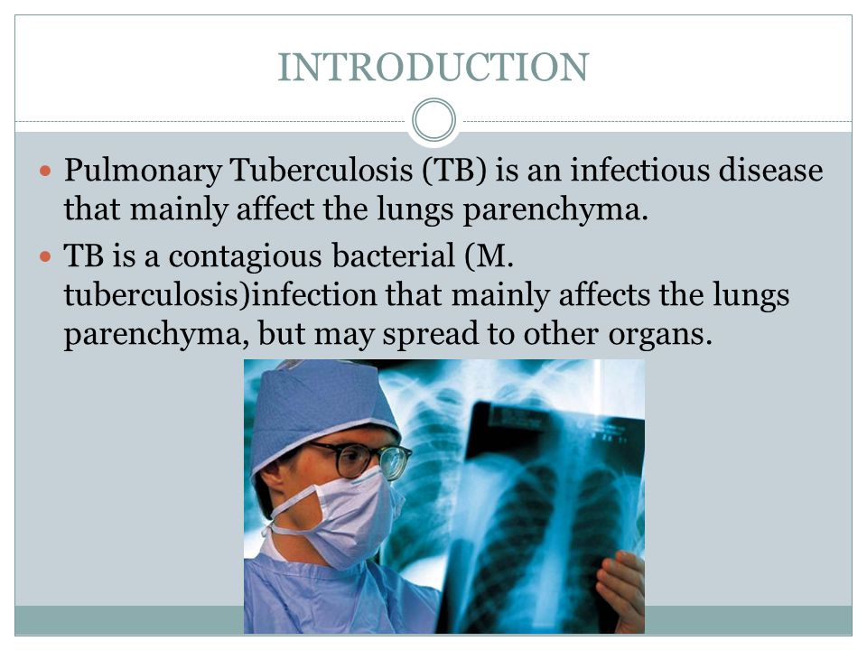 Theme Pulmonary Tuberculosis Essay Kazakh National Medical  Introduction Pulmonary Tuberculosis Tb Is An Infectious Disease That  Mainly Affect The Lungs Parenchyma