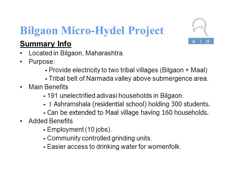 Bilgaon Micro-Hydel Project AID Austin Project Proposal By Gagan