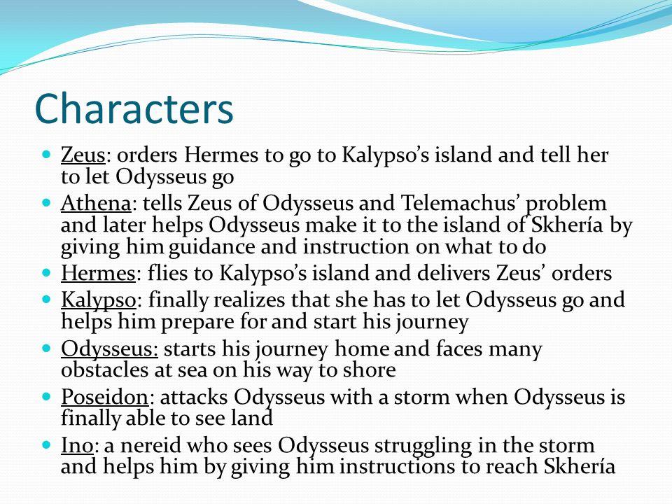 zeus and odysseus relationship