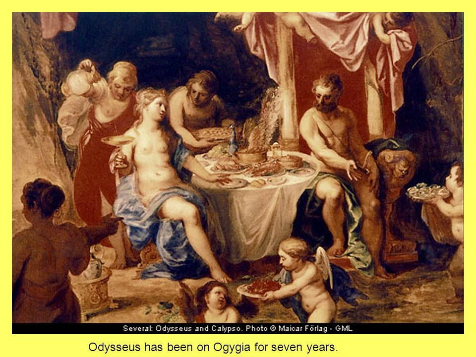 2 Odysseus Has Been On Ogygia For Seven Years