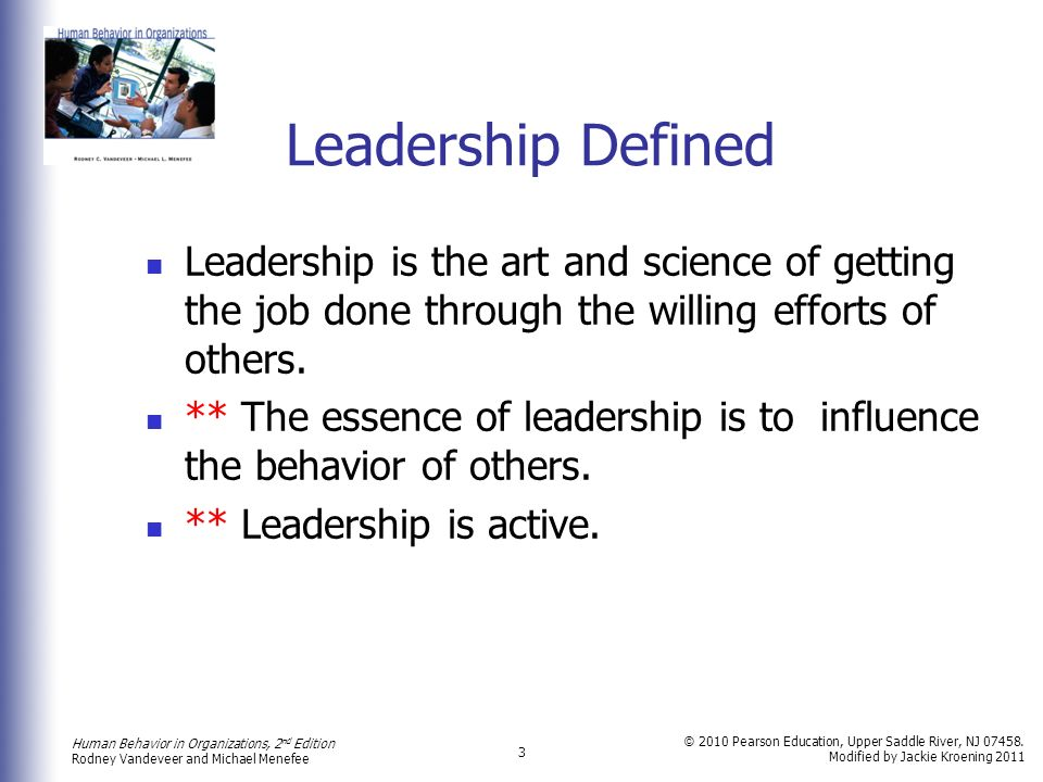 what is human behavior in organization all about