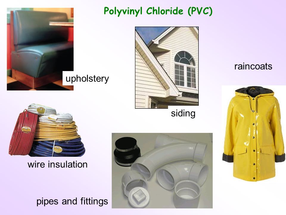 Polyvinyl Chloride (PVC) upholstery wire insulation pipes and fittings siding raincoats