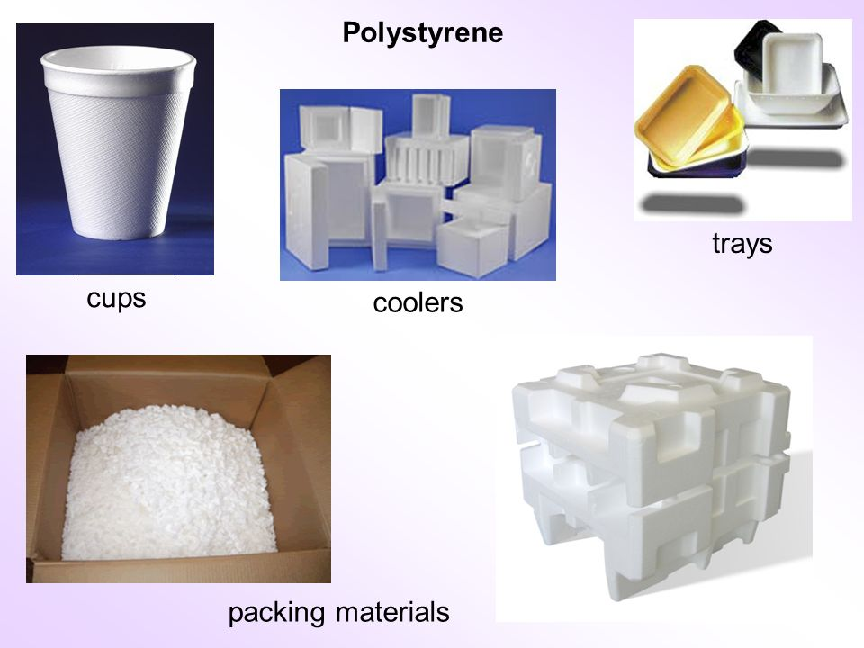 packing materials cups trays coolers Polystyrene